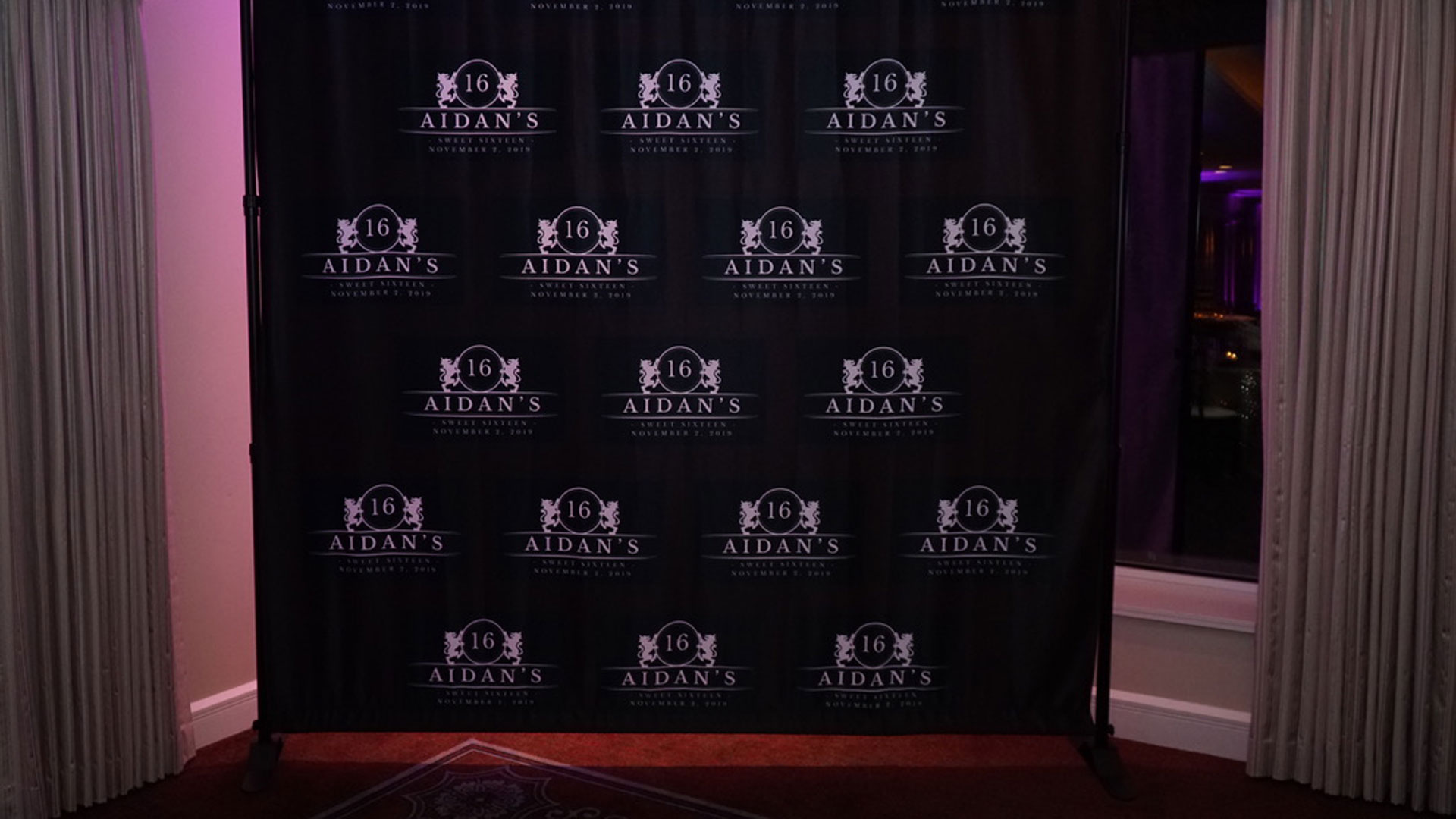 Chicago Step and Repeat Backdrop