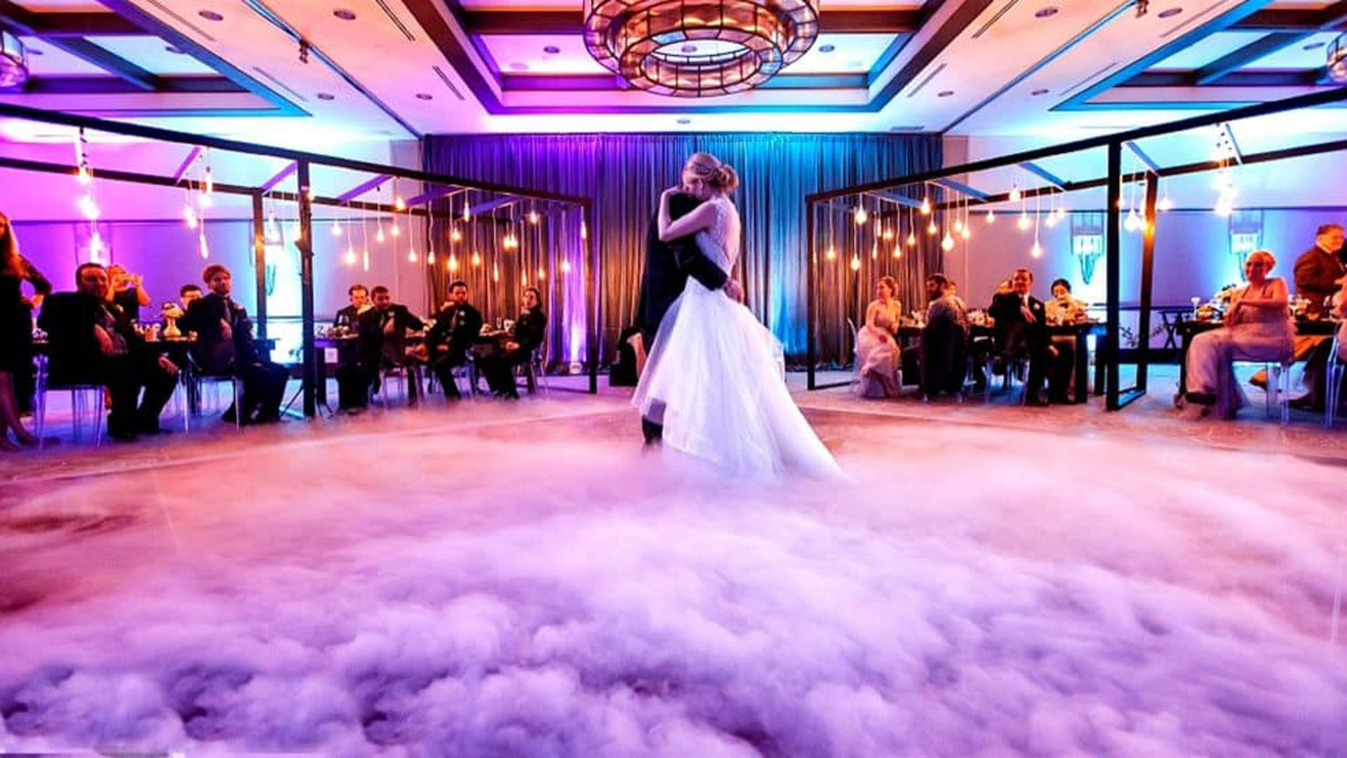 Chicago Wedding Dancing on the Clouds