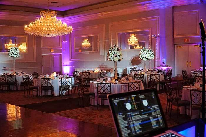 Chicago Wedding Lighting and Up Lighting
