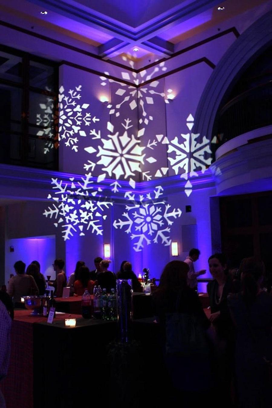 Chicago Wedding Gobo Lighting