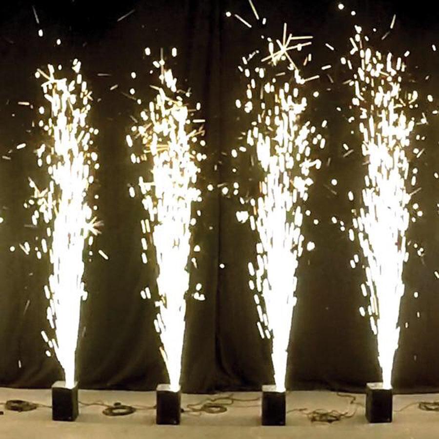 Chicago Wedding Indoor Fireworks Fountains