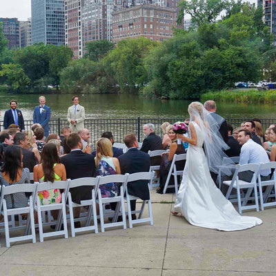 Outdoor Chicago Wedding DJ