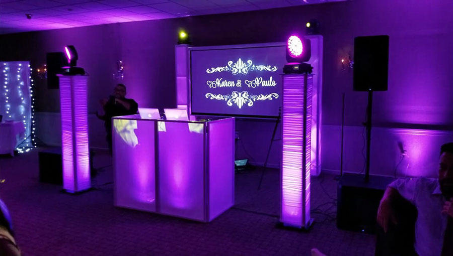 Chicago Wedding Specialty Lighting