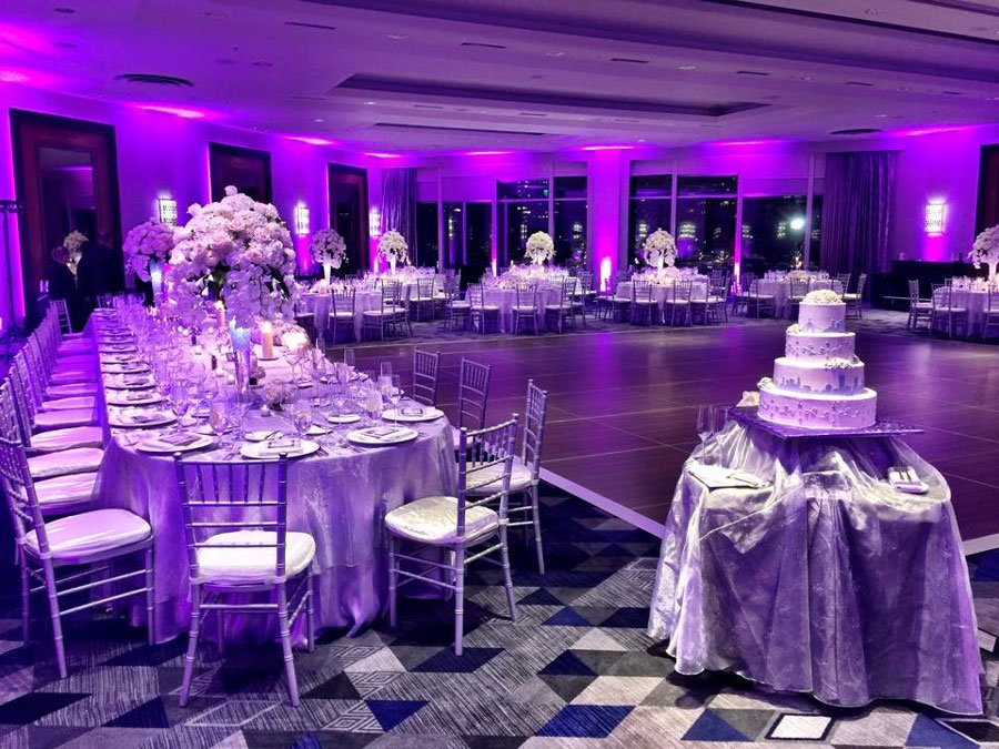 Chicago Wedding Up Lighting